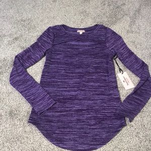 Juicy Couture long sleeve shirt.